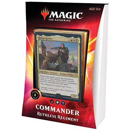Magic: The Gathering Ruthless Regiment Ikoria Commander Deck | 100 Card Deck | 4 Foil Legendary Creatures