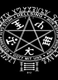 Rectangle Refrigerator Magnet - Star Symbol w/Hellsing, Hells Gate Arrested, And Shine Heaven Now