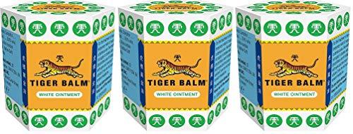 3 bálsamo de tigre blanco de 21 g | Tigre bálsamo ungüento blanco (21 g x 3 unidades)