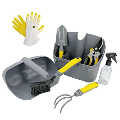 Jardineer Heavy Duty Garden Tools Set with Toug...
