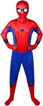 Traje de Superhéroe Spiderman niño cosplay traje homecoming Lujo disfraz halloween carnaval spider-man suit 3D print traje,D-XXS(92~102)