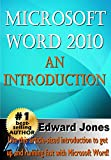 Microsoft Word 2010: An Introduction (English Edition)