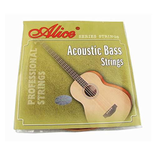 Musiclily Alice 4 -Saiten Akustik Bass Saiten Set,Regular Light