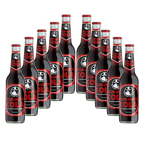 Club-mate Cola 10 Flaschen je 0,33l