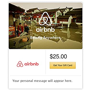Airbnb Boat Gift Cards - E-mail Delivery