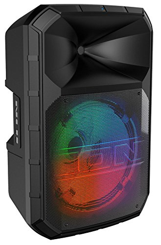 ION Audio Total PA Max – 500W Bi-Amplified Speaker with LED Display, Bluetooth Connectivity, USB Port/SD Card Playback…
