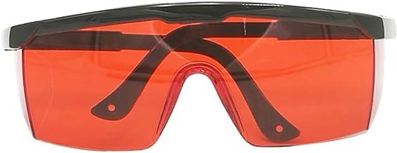 Homyl Óculos De Segurança Proteção Para Os Olhos Óculos De Bloqueio De Luz Azul Com Lente Vermelha SCT