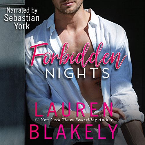 Forbidden Nights audiobook cover art
