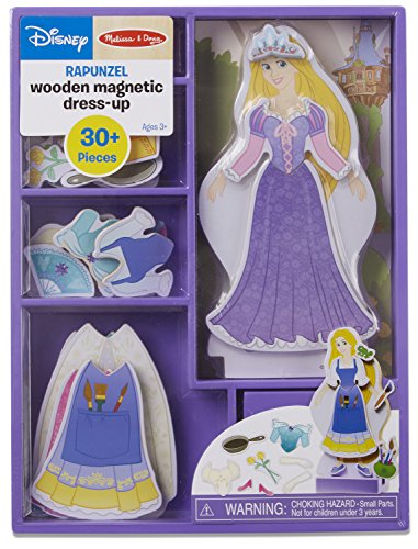 Rapunzel Wooden Magnetic Dress-Up Play Set by Melissa & Doug