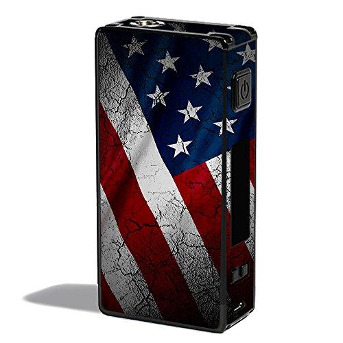 Skin Decal Vinyl Wrap for Innokin MVP 4 Vape Mod stickers skins cover/ American Flag distressed