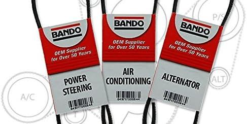引き出物 BANDO Serpentine Drive Belt Set 3 V-belt with 直営ストア Pieces Replacemen