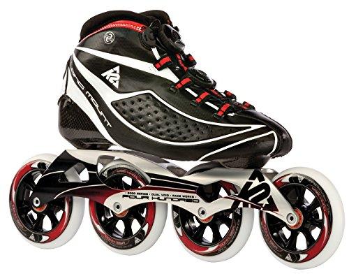 K2 Erwachsene Inline Skate Pro Longmount, mehrfarbig, 42, 3020030.1.1.42