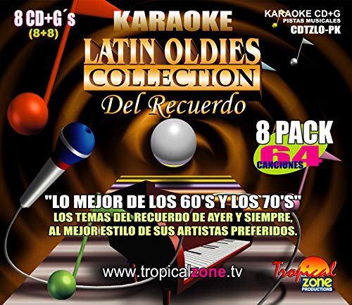 Read About KARAOKE LATIN OLDIES 64 BEST HITS