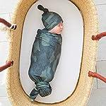 Little Giraffe Chenille Stroller Baby Blanket, Blue, 29″ x 35″