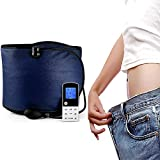 WSND 3 in 1 EMS Slimming Massage Belt Far Infrared Heating Sauna Belt, with Acupuncture Function Relieve Dysmenorrhea for Personal and Beauty Salon