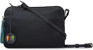 Mywalit Bruges Double Zip Crossbody Bag