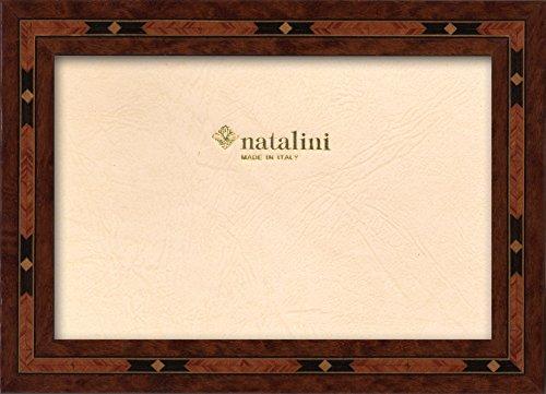 Natalini E3 13X18 Bilderrahmen mit Unterstützung für Tisch, Tulipwood, Braun, 13 X 18 X 1,5