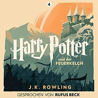 Harry Potter und der Feuerkelch - Gesprochen von Rufus Beck Titelbild