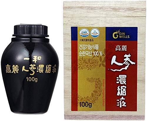 IL HWA 100g 100% Puro Estratto di Ginseng Coreano Panax, 13% Ginsenosidi (Importazione parallela)