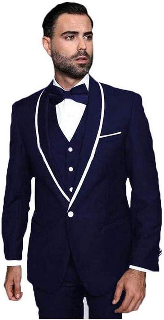 TOPG Men's 3 Piece Suit Shawl Slim New color Fit List price One Button Wedding Lapel