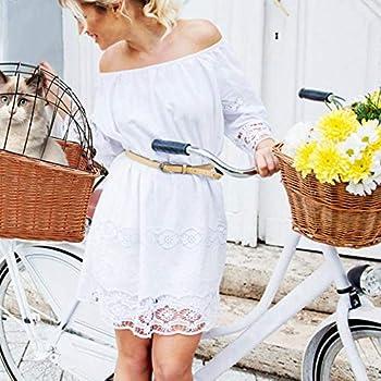 Schildeng Panier de vélo pour chien ou chat jusqu'à 11,3 kg