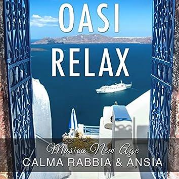 Oasi Relax - Musica New Age con Suoni della Natura e Rumore Bianco per la Calma, Rabbia, Ansia e per Dormire Serenamente Svegliandosi di Buon Umore