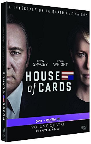 House of Cards-Saison 4 [DVD + Copie Digitale]