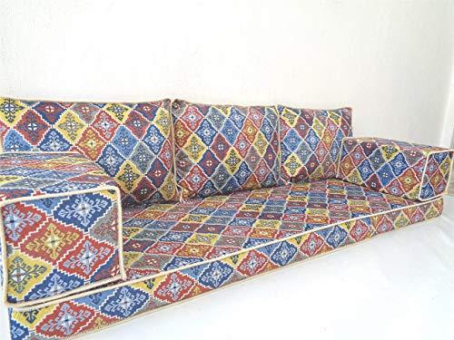 Modern floor seating,Arabic floor sofa,Arabic couch,Floor seating sofa,Oriental seating,Arabic majlis,jalsa - MA 108