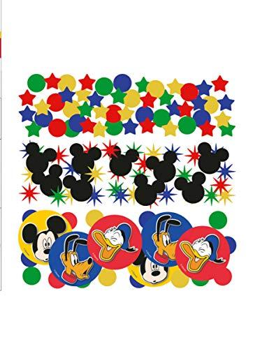 Amscan Mickey Muis Partij Tafel Confetti Triple Pack