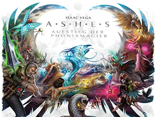 Plaid Hat Games - Ashes: Aufstieg der Phoenixmagier - Brettspiel - Deutsch