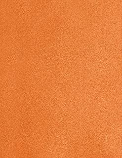 """$23 » LUXPaper 8.5"""" x 11"""" Paper for Crafts and Printing in Flame Metallic, Scrapbook and Office Supplies, 50 Pack (Orange)"""