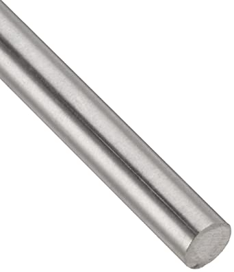 AMS 4928 Mill Unpolished 0.1875 Diameter MIL T-9047 24 Length 6Al-4V Titanium Round Bar Finish OnlineMetals