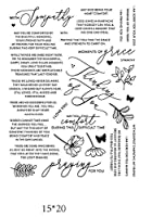 DIYスクラップブッキングアルバムスタンプ紙カードエンボス加工の手紙