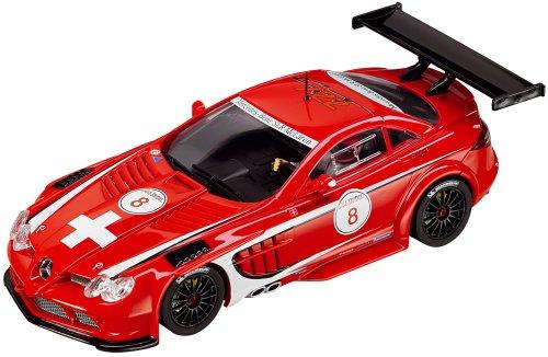 Carrera Evolution - voitures pour circuit - 20027318 - 1/32 eme analogique - Mercedes-Benz SLR McLaren GT SLR. CLUB. Trophy 2008, \
