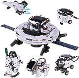 STEM Toys 6-in-1 Space Solar Robot Kit,Educatoinal...