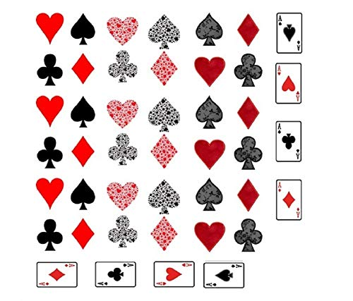 Nageltattoos, Design: Spielkarten