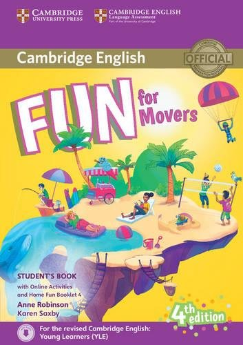 Fun for movers. Student's book. With home fun booklet 4. Per la Scuola media. Con e-book. Con espansione online