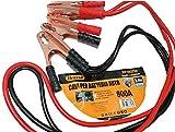 Herran Cavi per Batteria Auto 800AMP, Cavi di Avviamento per Batteria, Cavi di Collegamento 2,4metri