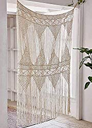 Large Macramé Curtain