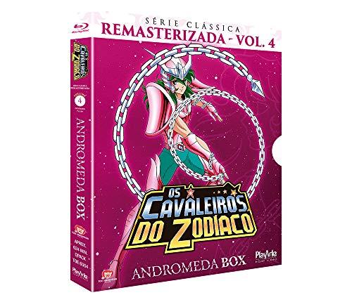 Cavaleiros Do Zodíaco- Cláss. Remast.- Andromeda/ Box 04 - [Blu-ray]- 3 Discos/ 26 Episódios
