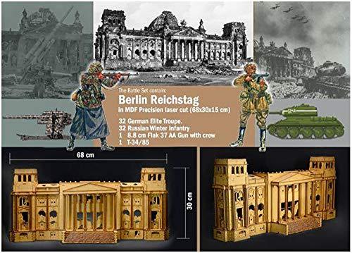 Italeri 6195S 1:72 Battle-Set 1945 Fall of The Reichs, Modellbau, Bausatz, Standmodellbau, Basteln, Hobby, Kleben, Plastikbausatz, detailgetreu
