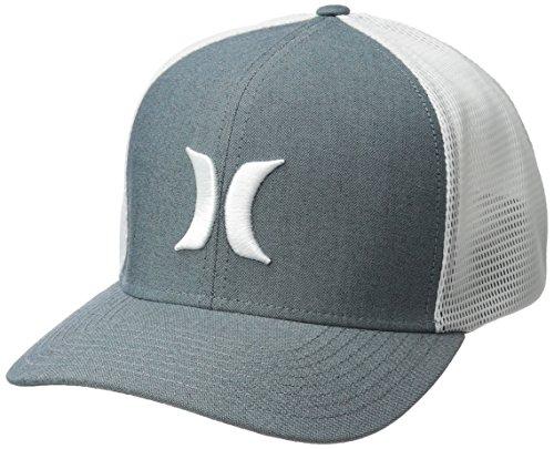 Hurley Men's Black Textures Baseball Cap, Ocean...