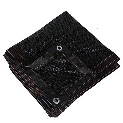 WOLJW schaduw Netting schaduw zeilen 60% zonnebrandcrème schaduw doek zwarte planten Patio tuin kas parkeerplaats luifel balkon outdoor UV-bestendig net