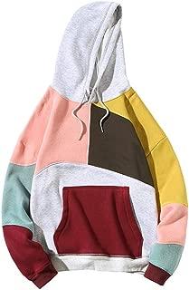 Misaky Men's Hoodies Halloween Costumes Cosplay Print Slim Masks Long Sleeve Hooded Pullover Sweatshirts Tops