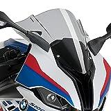 Racingscheibe für BMW S1000RR 2019 rauchgrau Puig 3571h