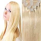 200g Real Triple Weft Extra Thick Clip in 100% Remy Human Hair...