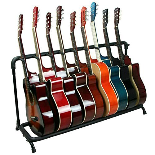 Doubleblack Soporte 9 Guitarras Universal Guitar Stand Rack Plegable Base Pie de...