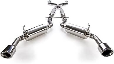 STILLEN 504440 Stainless Steel Cat-Back Exhaust System - 2014-15 Infiniti Q50