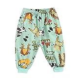 sunnymi Sommer Bekleidungssets für Baby Mädchen,0-4 Jahre Babyhose Cartoon Kinderbekleidung Kleinkindhose Kinder Sport Schlafhose