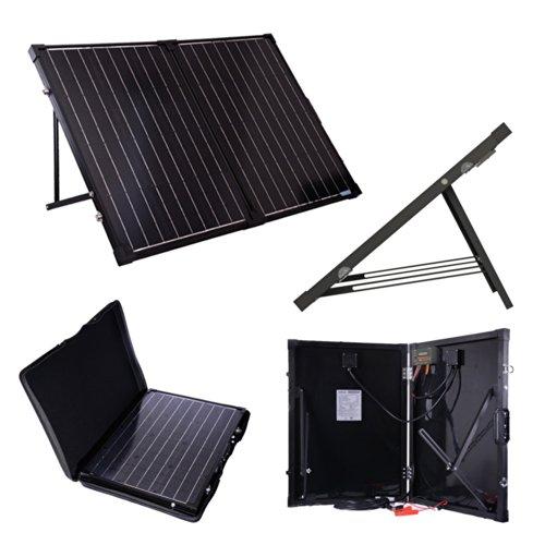 Renogy 100 Watt 12 Volt Monocrystalline Off Grid Portable Foldable...
